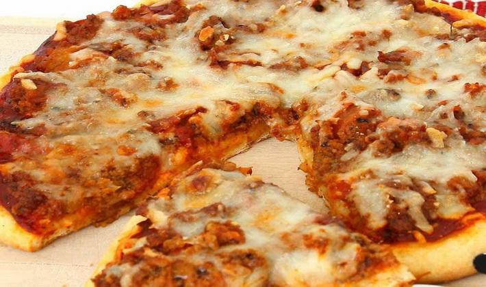 Грибная пицца с опятами
