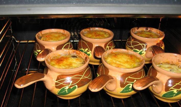 Рецепты грибных жульенов из опят