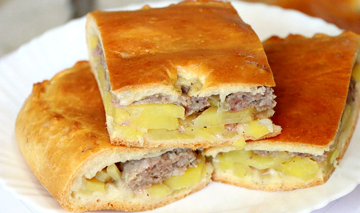 Рецепты вкусных блюд из картофеля с грибами и фаршем