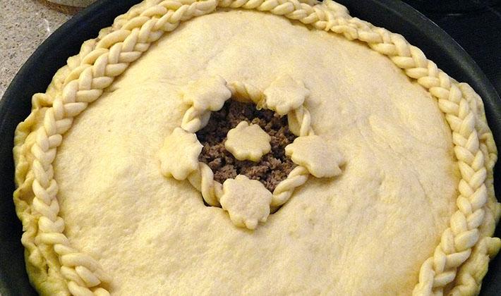 Рецепты пирогов с сушеными грибами