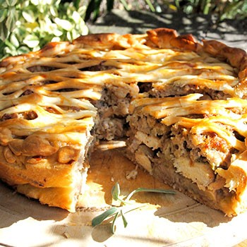 Рецепты быстрых пирогов с грибами (с фото)