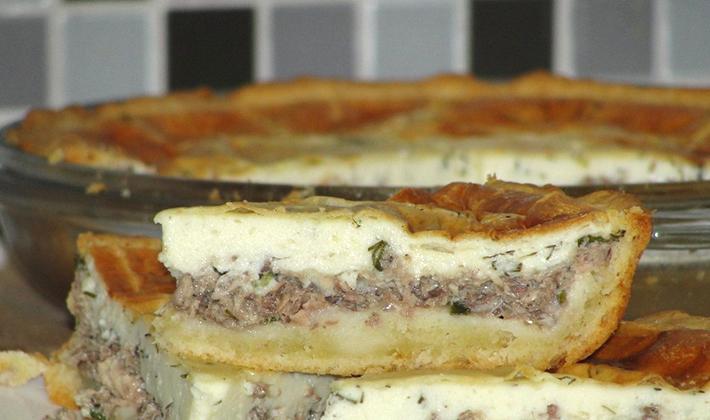 Рецепты закрытых пирогов с грибами (с фото)