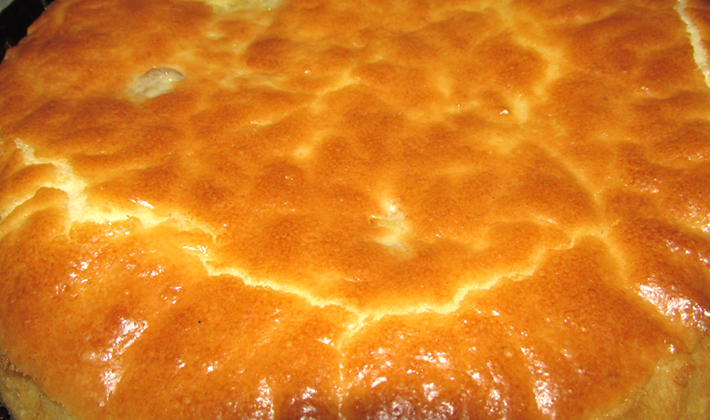 Рецепт быстрых заливных пирогов