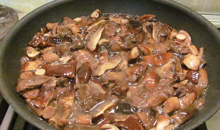 Лесные грибы в мультиварке рецепты с фото