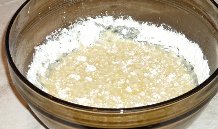 Как приготовить тесто для пирога с грибами