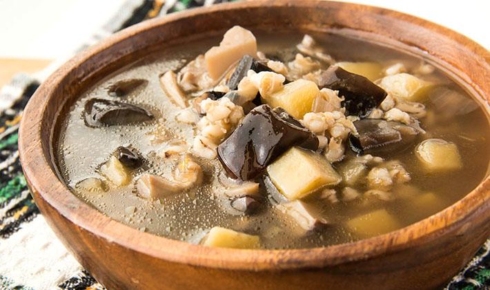 Рецепт грибного супа из свежих груздей