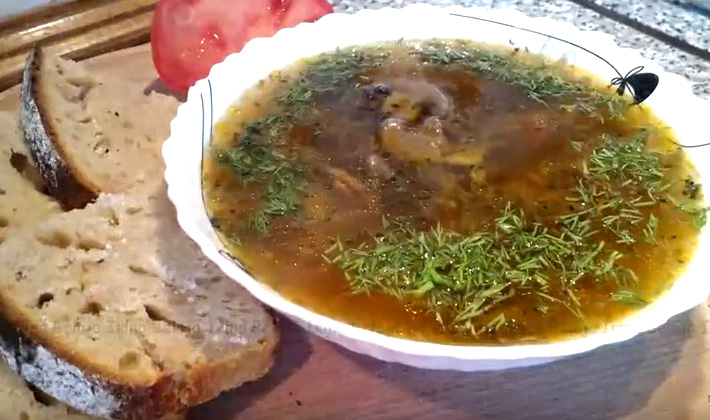 суп с грибами солеными рецепт с фото пошагово