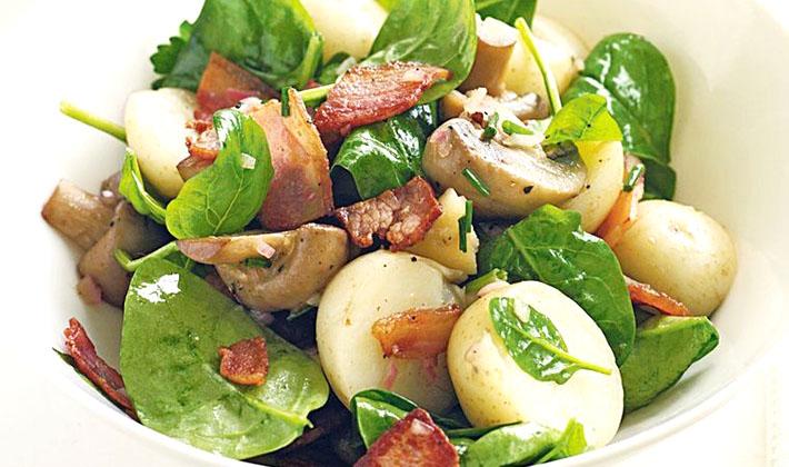 Рецепты салатов с груздями