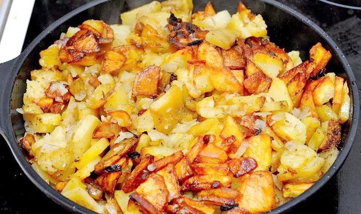 рецепт приготовления груздей с картошкой