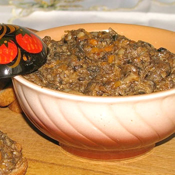 Рецепты грибной икры из ножек опят на зиму