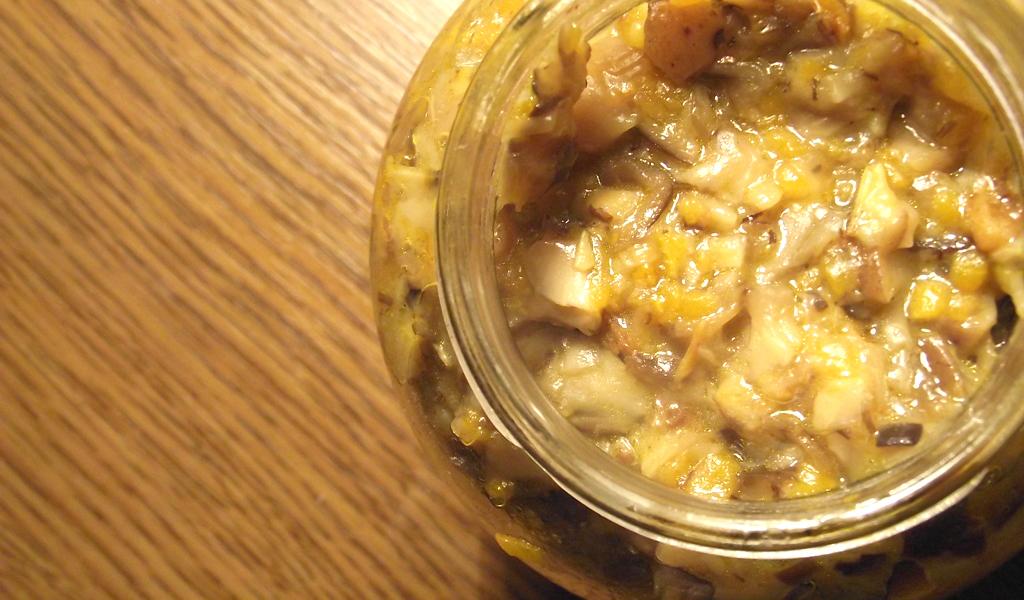 Как приготовить грибную икру из опят с чесноком
