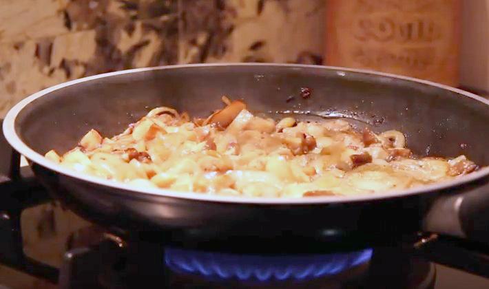 Соусы из белых грибов со сливками в домашних условиях