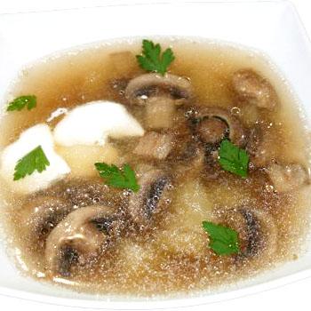 Рецепты бульонов из белых грибов