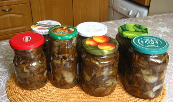 Жареные осенние опята на зиму: рецепты заготовок