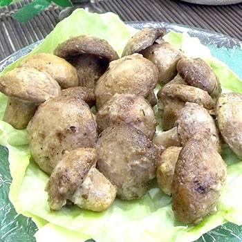 Белые грибы, запеченные в духовке