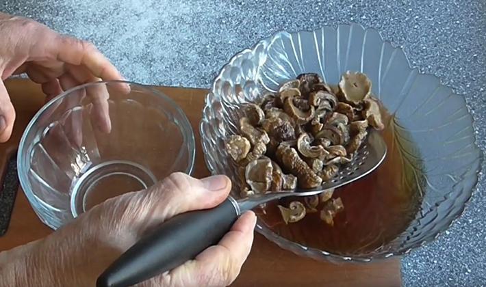 Как готовить картошку с сушеными белыми грибами