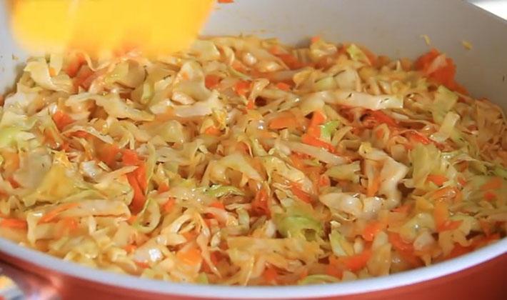 Рецепты приготовления капусты с белыми грибами