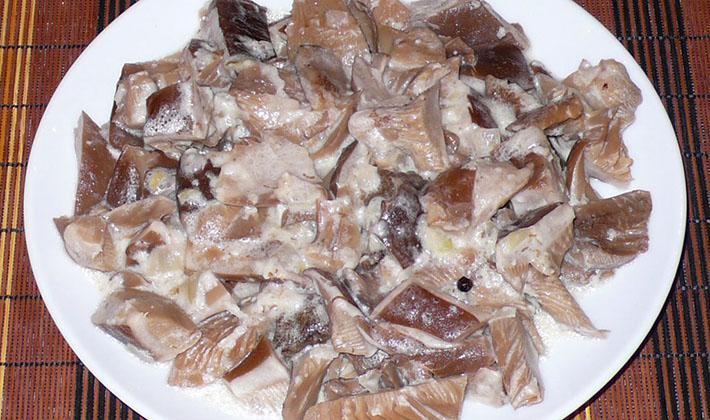 Рецепты приготовления тушеных белых грибов