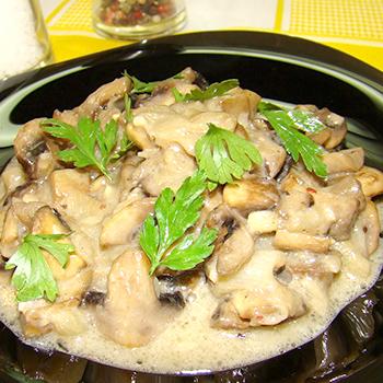 горшочки в духовке рецепты с фото со сливками