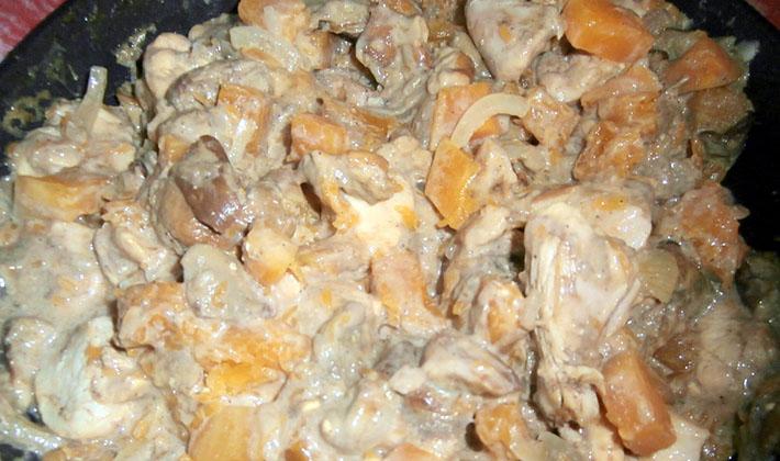 Рецепты приготовления белых грибов со сметаной