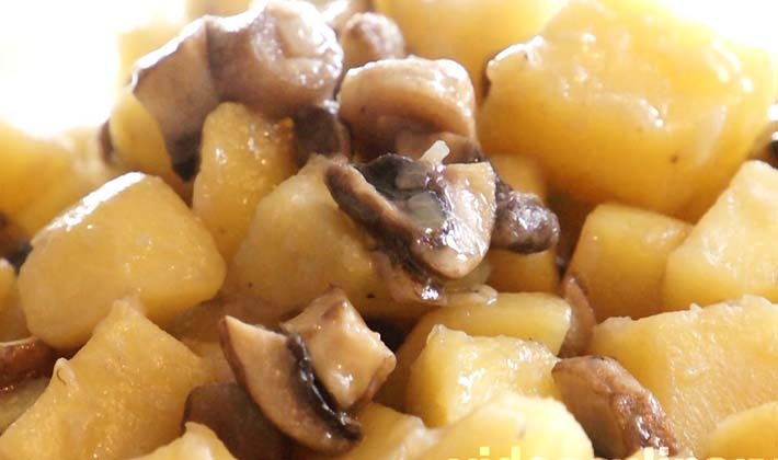 Блюда из белых грибов с картофелем