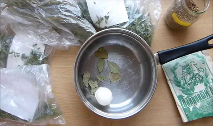 Приготовление маринада для рядовок
