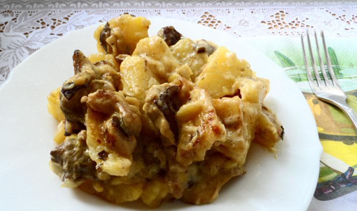 Рецепты приготовления блюд из белых грибов в мультиварке