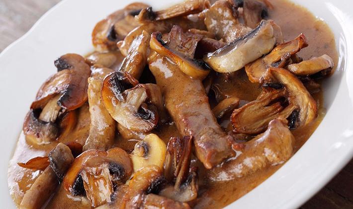 Рецепты говядины с белыми грибами