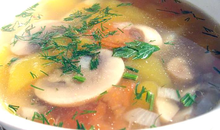 Как приготовить дома грибной суп