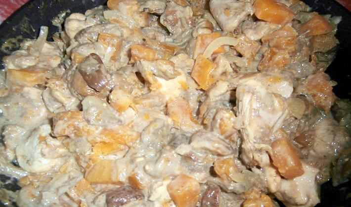 рецепты для мультиварки с белыми грибами