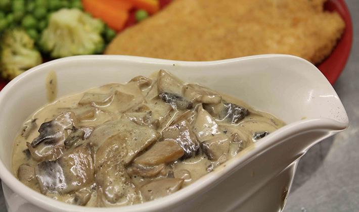 Как сделать грибной соус из белых грибов