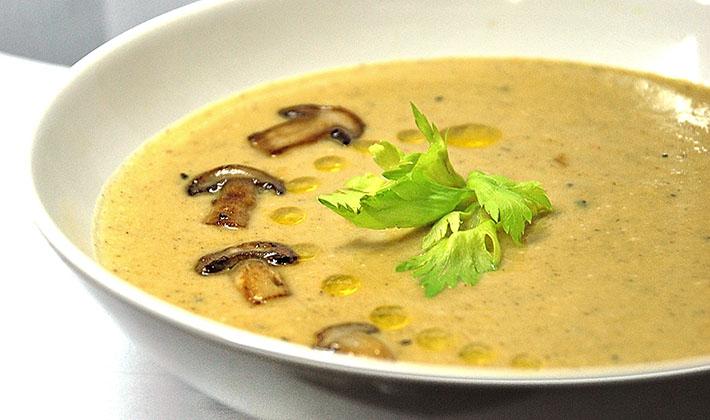 Суп с грибами сухими рецепт с пошагово в