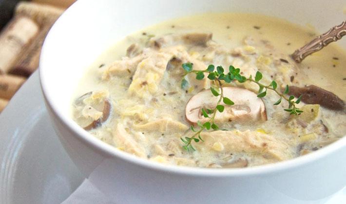 Как варить суп из сухих белых грибов