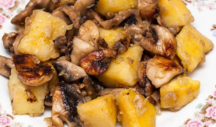 Как вкусно сделать белые грибы 100