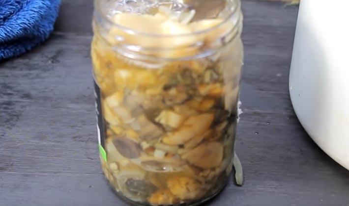 Как мариновать серые рядовки: простые рецепты