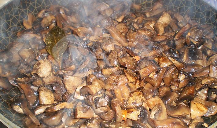Грибы рецепты приготовления жареные с луком
