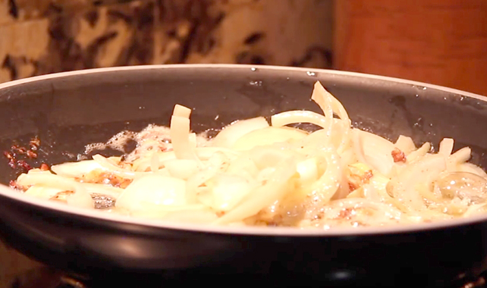 соус из белых грибов для спагетти со сметаной