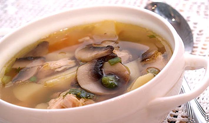 грибной суп из замороженных белых грибов рецепт классический