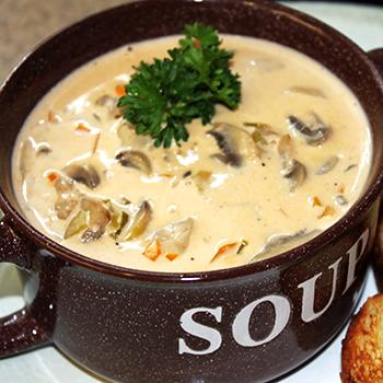 Рецепты приготовления вкусной грибовницы из белых грибов
