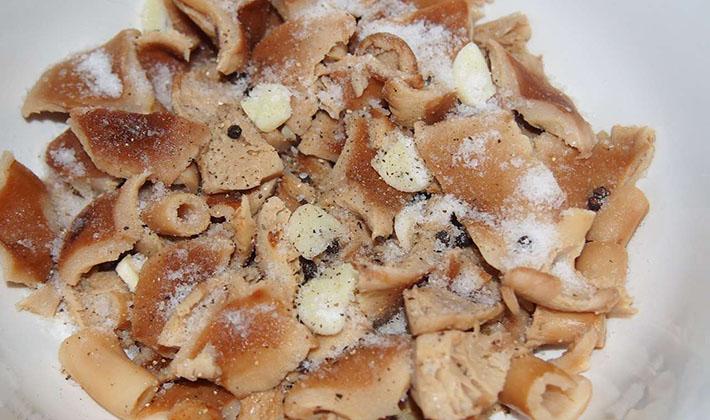 Соление волнушек холодным способом: пошаговые рецепты