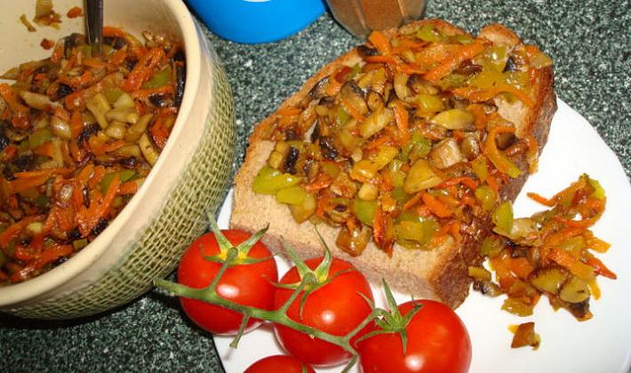 Икра из лисичек: рецепты грибных закусок