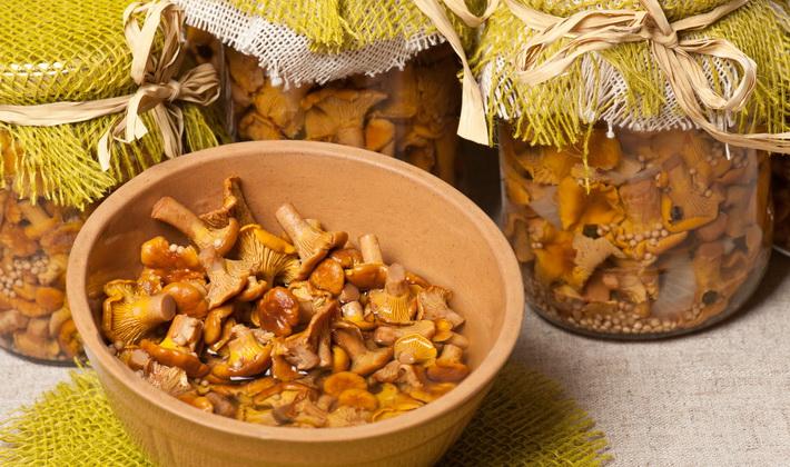 Приготовление лисичек на зиму разными способами