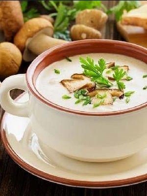 Грибной суп из свежих грибов с плавленным сыром рецепт