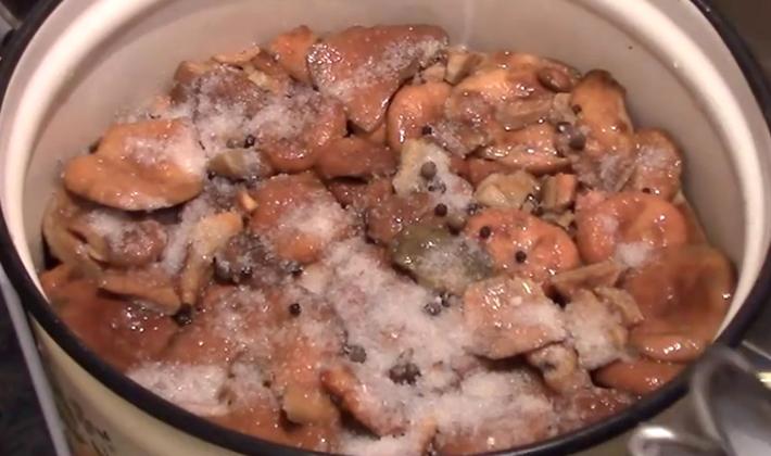 Как заготовить рыжики с уксусом на зиму