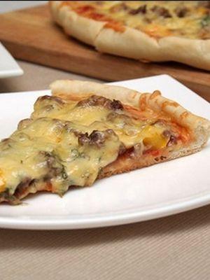 Пицца с грибами и огурцами: домашние рецепты