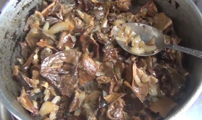 Приготовление блюд из сушеных рыжиков