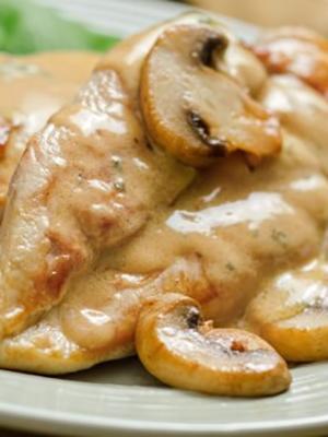Рецепты куриного филе с грибами в соусе
