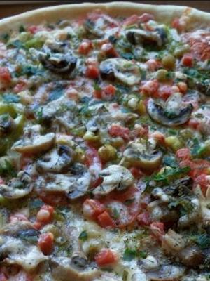 Пицца с маринованными грибами: пошаговые рецепты с фото