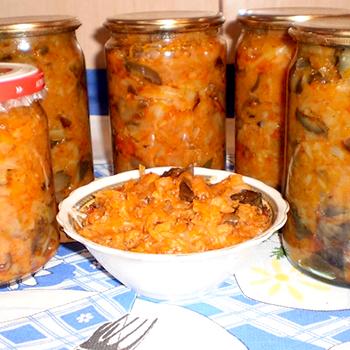 солянка грибная на зиму рецепт приготовления
