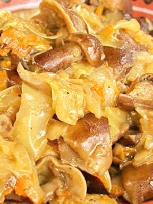 Солянка с грибами и капустой: домашние рецепты